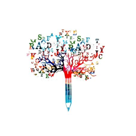 67214059-Colorful-pencil-tree-vector-illustration-with-font-letters-Typeset--Stock-Photo